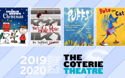 Book Now! The Coterie's 2019/2020 Season Opens Soon