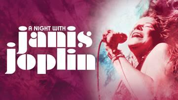 Johnson County Community College's Carlsen Center PresentsA Night with Janis Joplin