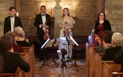 Carlsen Center Presents NEW Digital Artists-in-Residence Opus 76 Quartet