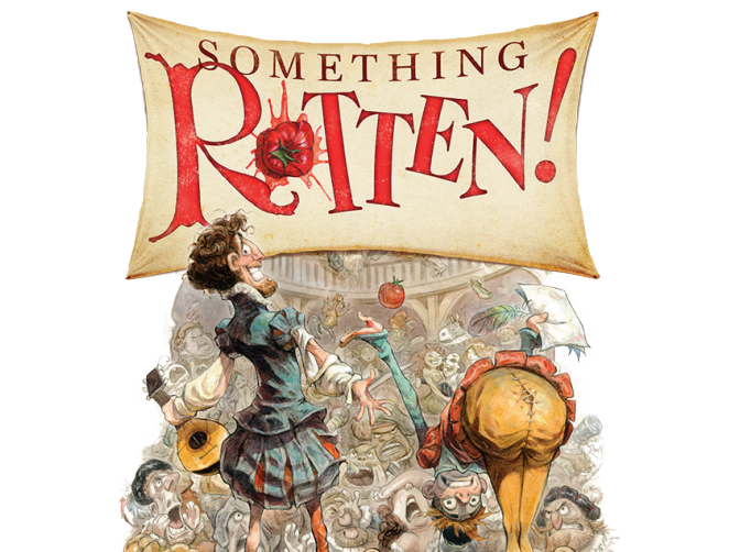 The White Theatre at The J presents Something Rotten In-Person and Streaming On-Demand